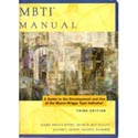 Myers-Briggs Type Indicator Manual