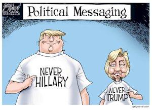 Donald Trump & Hillary Clinton Leadership Types   ESTP INTJ