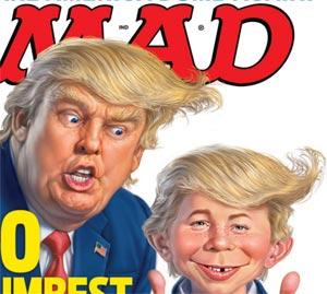 donald trump mad magazine